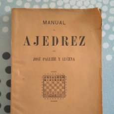 Coleccionismo deportivo: PALUZIE MANUAL DE AJEDREZ APERTURAS PARTE 3. Lote 167446784