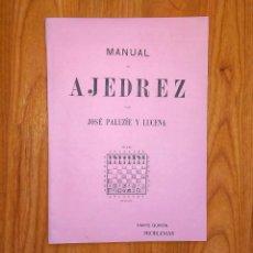Coleccionismo deportivo: PALUZIE MANUAL DE AJEDREZ PROBLEMAS PARTE 5. Lote 167456536