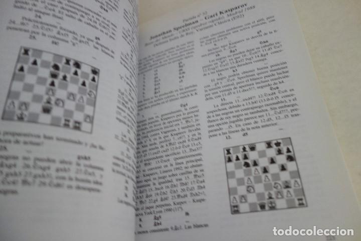 Coleccionismo deportivo: AJEDREZ.CHESS. LAS MEJORES PARTIDAS DE GARI KASPAROV. TOMO 1. IGOR STOHL. - Foto 4 - 167468504
