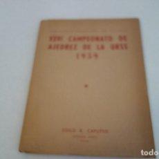 Coleccionismo deportivo: CHESS. AJEDREZ. XXVI CAMPEONATO DE AJEDREZ DE LA URSS . TBÍLISI 1959. Lote 168605720