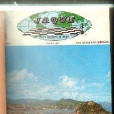 Coleccionismo deportivo: REVISTA JAQUE.AÑO 1971. A-AJD-516. Lote 168722392