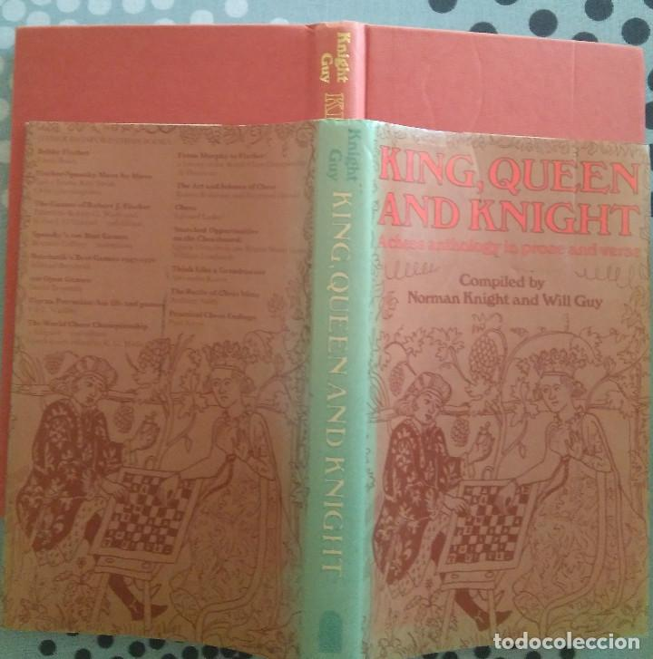Coleccionismo deportivo: Ajedrez King, queen, and knight: A chess anthology in prose and verse - Foto 2 - 169235600