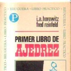 Coleccionismo deportivo: PRIMER LIBRO DE AJEDREZ. A-AJD-512. Lote 169264472