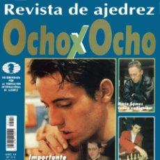 Coleccionismo deportivo: AJEDREZ REVISTA 8X8 OCHO X OCHO OCHOXOCHO 214. Lote 169291748