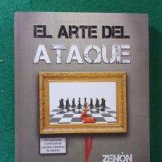 Coleccionismo deportivo: EL ARTE DEL ATAQUE / ZENÓN FRANCO / 1ª EDICIÓN 2008. ESFERA EDITORIAL. Lote 169638564