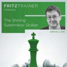 Coleccionismo deportivo: AJEDREZ. CHESS. THE SHINING SVESHNIKOV SICILIAN - ERWIN L'AMI DVD. Lote 170174824