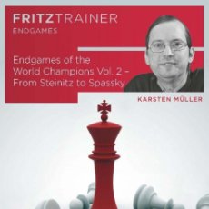 Coleccionismo deportivo: AJEDREZ. CHESS. ENDGAMES OF THE WORLD CHAMPIONS VOL. 2 - FROM STEINITZ TO SPASSKY - KARSTEN MÜLLER. Lote 170223096
