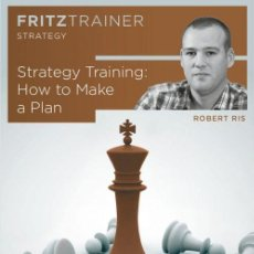 Coleccionismo deportivo: AJEDREZ. CHESS. HOW TO MAKE A PLAN - ROBERT RIS DVD. Lote 170251932