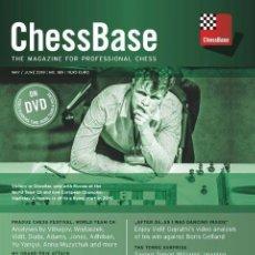 Coleccionismo deportivo: AJEDREZ. CHESS. CHESSBASE MAGAZINE 189 - THE CHESSBASE TEAM DVD. Lote 170321332