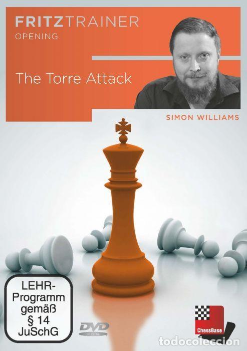 AJEDREZ. CHESS. THE TORRE ATTACK - SIMON WILLIAMS DVD (Coleccionismo Deportivo - Libros de Ajedrez)