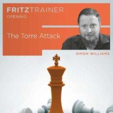 Coleccionismo deportivo: AJEDREZ. CHESS. THE TORRE ATTACK - SIMON WILLIAMS DVD. Lote 170330160