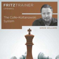 Coleccionismo deportivo: AJEDREZ. CHESS. THE COLLE-KOLTANOWSKI SYSTEM - SIMON WILLIAMS DVD. Lote 170334028