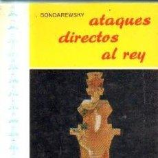 Coleccionismo deportivo: ATAQUES DIRECTOS AL REY. A-AJD-517. Lote 170870880