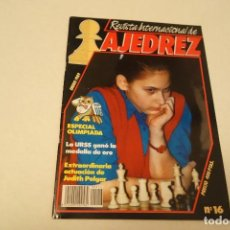 Coleccionismo deportivo: REVISTA INTERNACIONAL DE AJEDREZ Nº 16 . ENERO 1989. Lote 171462872