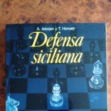 Coleccionismo deportivo: LIBRO DE AJEDREZ. DEFENSA SICILIANA. VARIANTE SVESHNIKOV. COLECCION ESCAQUES. Lote 172754343