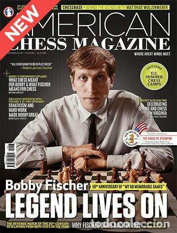 AJEDREZ. AMERICAN CHESS MAGAZINE NO. 12. BOBBY FISCHER - LEGEND LIVES ON - ACM (Coleccionismo Deportivo - Libros de Ajedrez)
