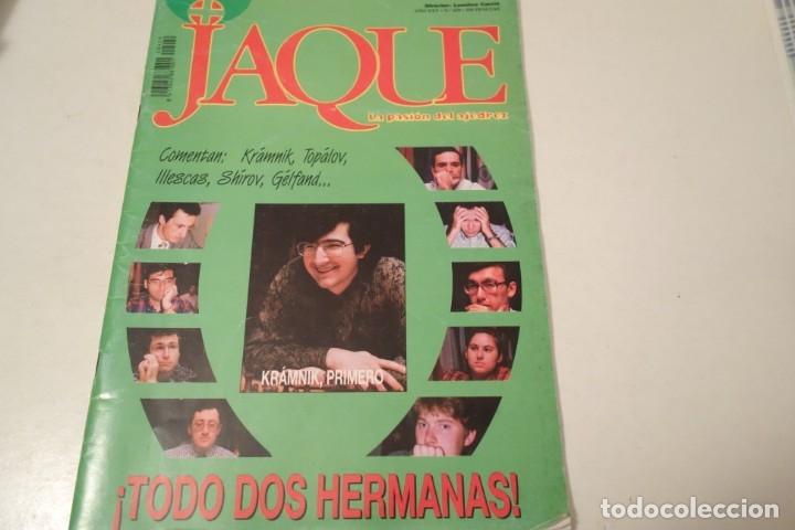 ESCACS. CHESS . AJEDREZ. REVISTA JAQUE Nº 429. JULIIO 1996 (Coleccionismo Deportivo - Libros de Ajedrez)