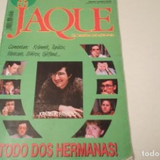Coleccionismo deportivo: ESCACS. CHESS . AJEDREZ. REVISTA JAQUE Nº 429. JULIIO 1996. Lote 173428018