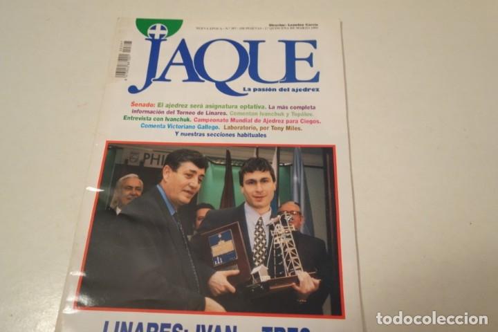 ESCACS. CHESS . AJEDREZ. REVISTA JAQUE Nº 397. MARZO 1995 (Coleccionismo Deportivo - Libros de Ajedrez)