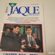 Coleccionismo deportivo: ESCACS. CHESS . AJEDREZ. REVISTA JAQUE Nº 397. MARZO 1995. Lote 173428049