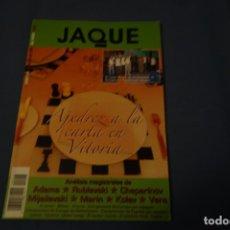 Coleccionismo deportivo: ESCACS. CHESS. AJEDREZ. REVISTA DE AJEDREZ JAQUE EN COLOR. 616 DICIEMBRE DE 2007. Lote 173428500