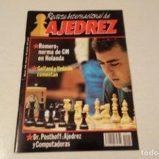 Coleccionismo deportivo: ESCACS. CHESS .AJEDREZ. REVISTA INTERNACIONAL DE AJEDREZ NÚM 42 MARZO DE 1991. Lote 173428924