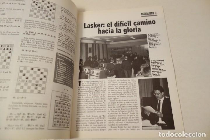 Coleccionismo deportivo: ESCACS. CHESS .AJEDREZ. REVISTA INTERNACIONAL DE AJEDREZ NÚM 42 MARZO DE 1991 - Foto 2 - 173428924