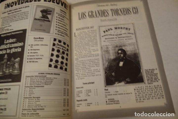 Coleccionismo deportivo: ESCACS. CHESS .AJEDREZ. REVISTA INTERNACIONAL DE AJEDREZ NÚM 42 MARZO DE 1991 - Foto 4 - 173428924