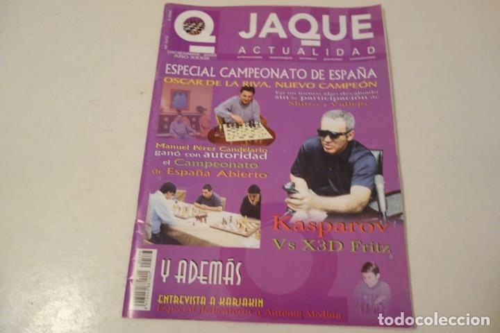 ESCACS. CHESS .AJEDREZ. REVISTA JAQUE ACTUALIDAD .DICIEMBRE 2003. NÚM 573. (Coleccionismo Deportivo - Libros de Ajedrez)