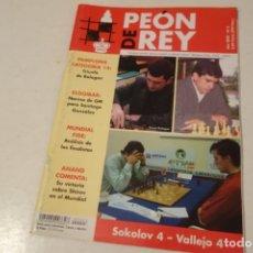 Coleccionismo deportivo: ESCACS. CHESS .AJEDREZ. REVISTA PEÓN DE REY Nº3 AÑO 2002. Lote 173428982