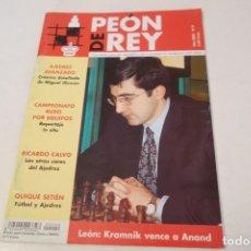 Coleccionismo deportivo: AJEDREZ.CHESS. REVISTA DE AJEDREZ PEÓN DE REY Nº 9 AÑO 2002. Lote 173590053