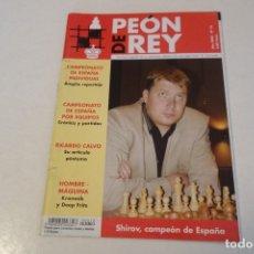 Coleccionismo deportivo: AJEDREZ.CHESS. REVISTA DE AJEDREZ PEÓN DE REY Nº 12 AÑO 2002. Lote 173590288