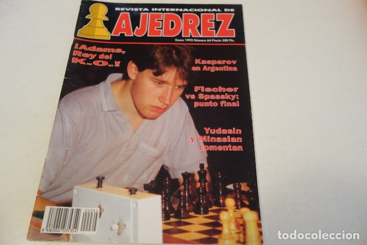 ESCACS. AJEDREZ.CHESS. REVISTA INTERNACIONAL DE AJEDREZ Nº 64 ENERO 1993 (Coleccionismo Deportivo - Libros de Ajedrez)