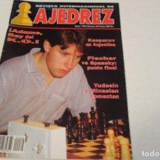 Coleccionismo deportivo: ESCACS. AJEDREZ.CHESS. REVISTA INTERNACIONAL DE AJEDREZ Nº 64 ENERO 1993. Lote 173592135