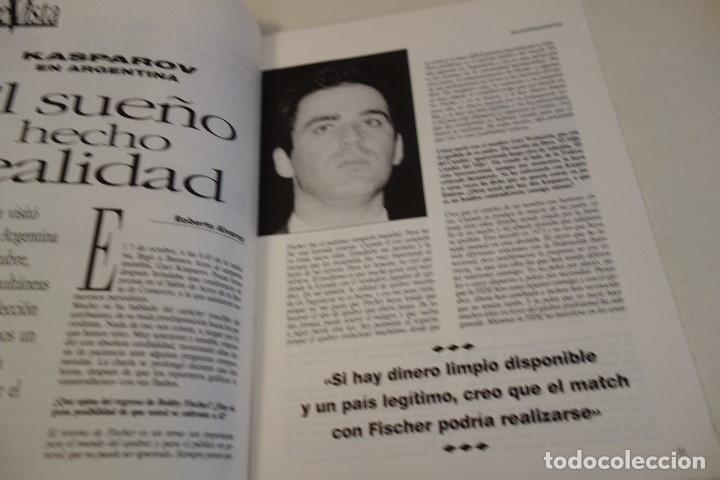 Coleccionismo deportivo: ESCACS. AJEDREZ.CHESS. REVISTA INTERNACIONAL DE AJEDREZ nº 64 Enero 1993 - Foto 2 - 173592135