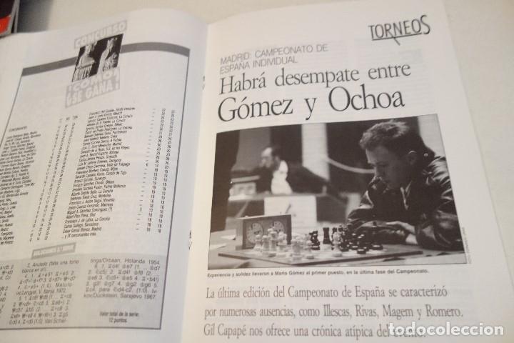 Coleccionismo deportivo: ESCACS. AJEDREZ.CHESS. REVISTA INTERNACIONAL DE AJEDREZ nº 64 Enero 1993 - Foto 3 - 173592135