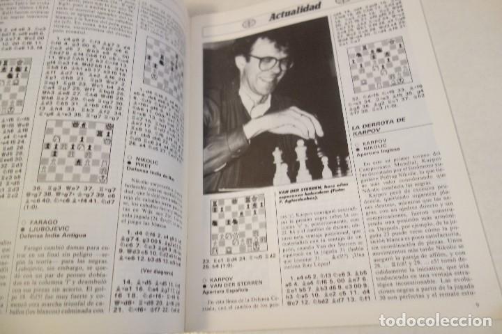 Coleccionismo deportivo: ESCACS. AJEDREZ.CHESS. REVISTA INTERNACIONAL DE AJEDREZ nº 7 Abril 1988 - Foto 2 - 173592257