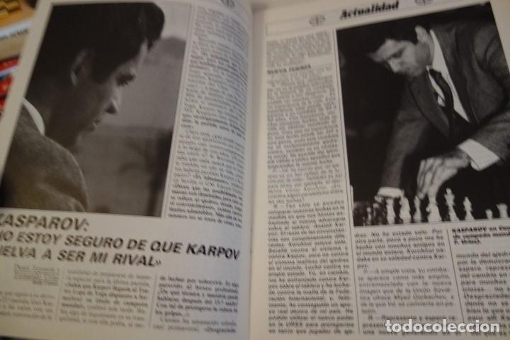 Coleccionismo deportivo: ESCACS. AJEDREZ.CHESS. REVISTA INTERNACIONAL DE AJEDREZ nº 7 Abril 1988 - Foto 3 - 173592257