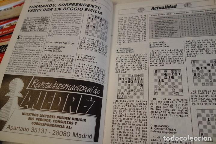 Coleccionismo deportivo: ESCACS. AJEDREZ.CHESS. REVISTA INTERNACIONAL DE AJEDREZ nº 7 Abril 1988 - Foto 4 - 173592257
