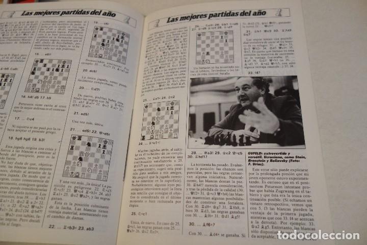 Coleccionismo deportivo: ESCACS. AJEDREZ.CHESS. REVISTA INTERNACIONAL DE AJEDREZ nº 7 Abril 1988 - Foto 5 - 173592257