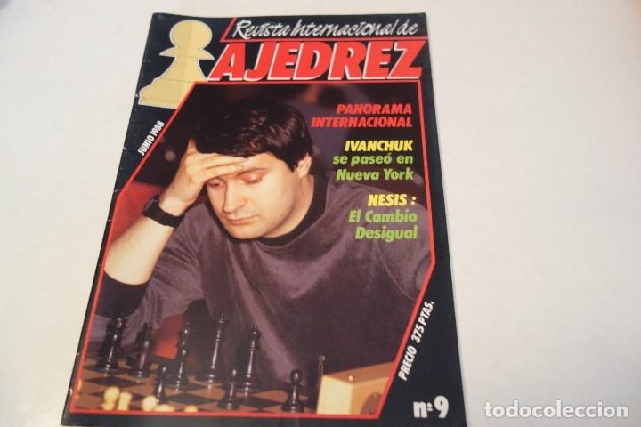 ESCACS. AJEDREZ.CHESS. REVISTA INTERNACIONAL DE AJEDREZ Nº 9 JUNIO 1988 (Coleccionismo Deportivo - Libros de Ajedrez)