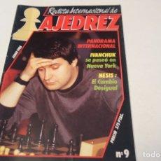Coleccionismo deportivo: ESCACS. AJEDREZ.CHESS. REVISTA INTERNACIONAL DE AJEDREZ Nº 9 JUNIO 1988. Lote 173592322