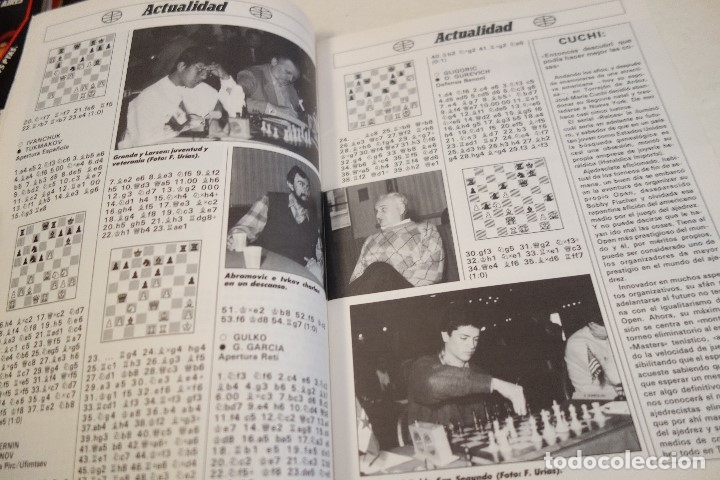 Coleccionismo deportivo: ESCACS. AJEDREZ.CHESS. REVISTA INTERNACIONAL DE AJEDREZ Nº 9 JUNIO 1988 - Foto 2 - 173592322