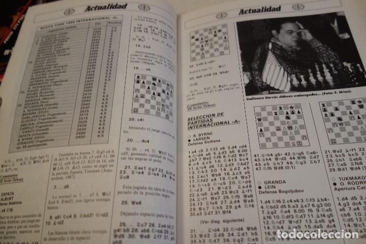 Coleccionismo deportivo: ESCACS. AJEDREZ.CHESS. REVISTA INTERNACIONAL DE AJEDREZ Nº 9 JUNIO 1988 - Foto 3 - 173592322