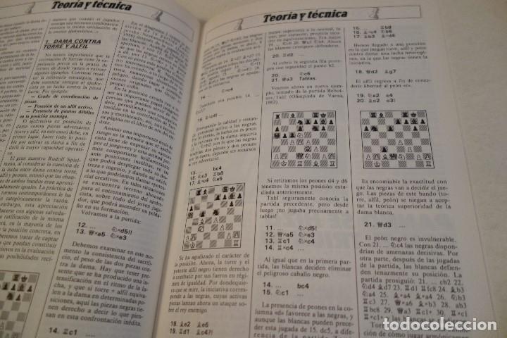 Coleccionismo deportivo: ESCACS. AJEDREZ.CHESS. REVISTA INTERNACIONAL DE AJEDREZ Nº 9 JUNIO 1988 - Foto 4 - 173592322