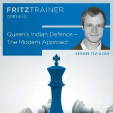 Coleccionismo deportivo: AJEDREZ. CHESS. QUEEN'S INDIAN DEFENCE - SERGEI TIVIAKOV DVD. Lote 174018319
