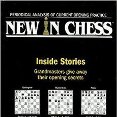Coleccionismo deportivo: AJEDREZ. NEW IN CHESS YEARBOOK 51. INSIDE STORIES (CARTONÉ) OFERTA!!!. Lote 174067949