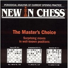 Coleccionismo deportivo: AJEDREZ. NEW IN CHESS YEARBOOK 52. THE MASTER'S CHOICE OFERTA!!!. Lote 174088140
