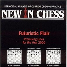 Coleccionismo deportivo: AJEDREZ. NEW IN CHESS YEARBOOK 53. FUTURISTIC FLAIR OFERTA!!!. Lote 174088812