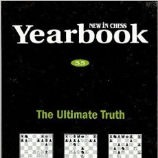 Coleccionismo deportivo: AJEDREZ. NEW IN CHESS YEARBOOK 55. THE ULTIMATE TRUTH (CARTONÉ) OFERTA!!!. Lote 174104369